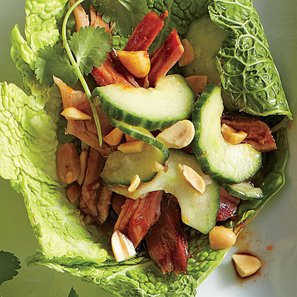 Sweet-and-Sour Cucumber Salad Recipe