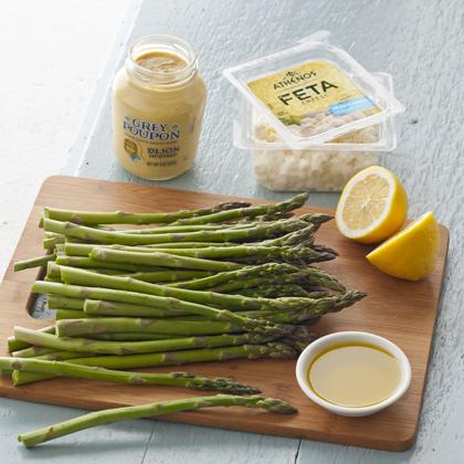 Asparagus Salad with Lemon & Feta