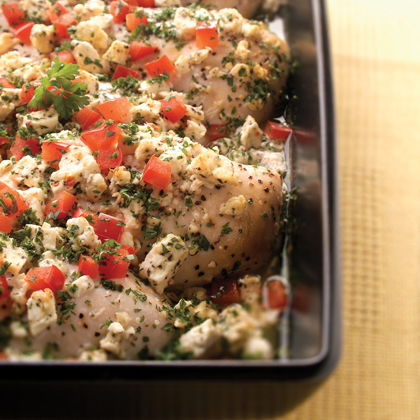 Easy Feta Chicken Bake