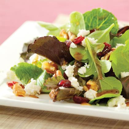 Cranberry and Feta Salad with Dijon Vinaigrette