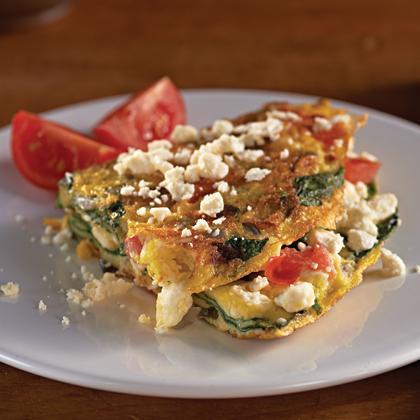 Greek Omelet with Feta