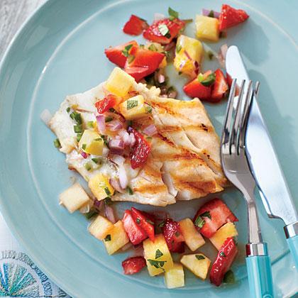 Strawberry-Pineapple Salsa