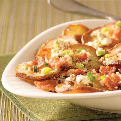 Pan-Fried Greek Potatoes