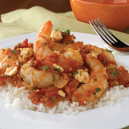 Kraft Athenos: Shrimp with Tomato & Feta