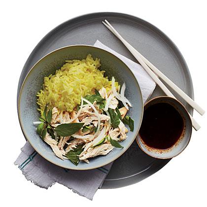 Chicken & Golden Rice Recipe