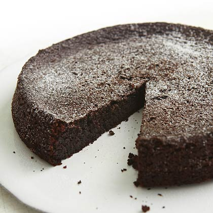 <p>Chocolate Olive Oil Cake</p>