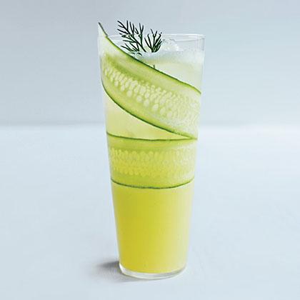 Cucumber-Lemonade Mocktail Recipe