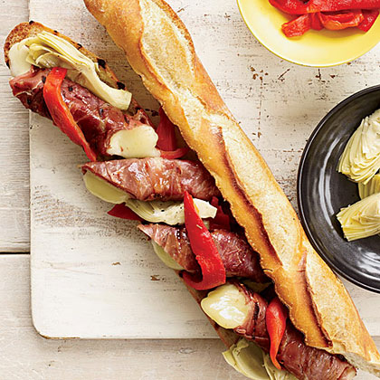 Double-Grilled Antipasto Sandwiches Recipe