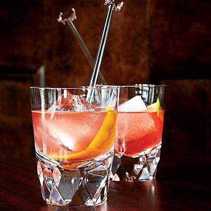 Gin-Campari Old-FashionedRecipe