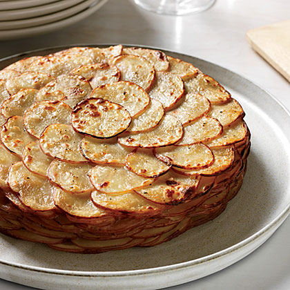 Healthy Potato Gratin with Herbs Recipe