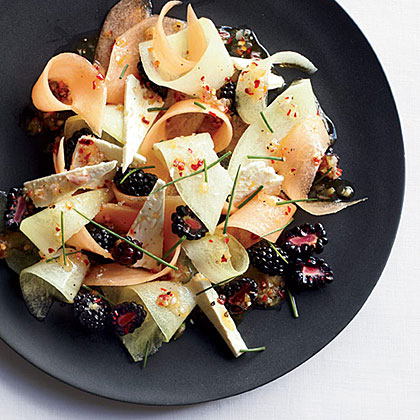 Melon, Berry and Feta Salad