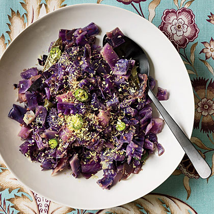 Red Cabbage Stir-Fry with Coconut Recipe
