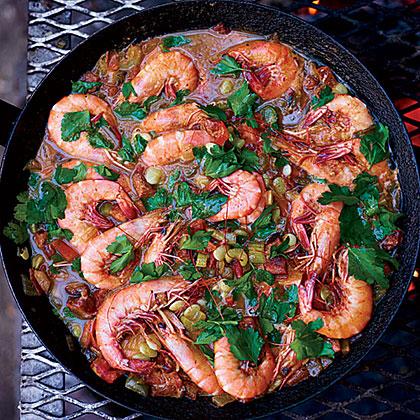 Shrimp-and-Sausage Stew