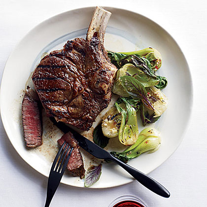 Southeast Asian Rib Eye Steaks Recipe