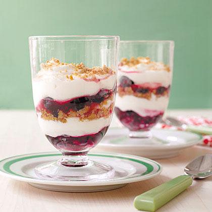Blueberry Cheesecake Parfaits