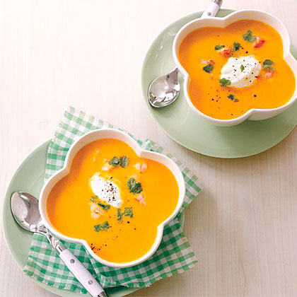Carrot-Ginger Soup Recipe