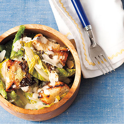 Grilled Caesar Salad Recipe | MyRecipes
