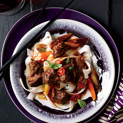 Asian Beef with Basil