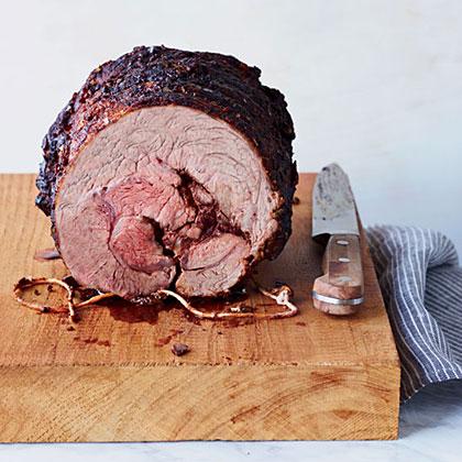 Beef Chuck Eye Roast with Paprika-Herb Rub