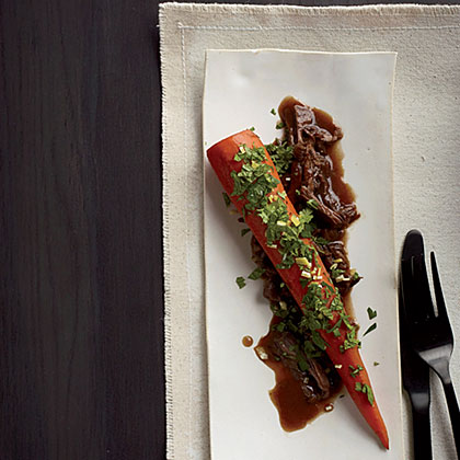Braised Carrots with Lamb Recipe