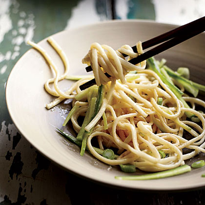 Cold Peanut-Sesame Noodles Recipe