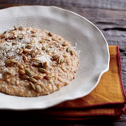 Cracked Emmer and Carrot Porridge