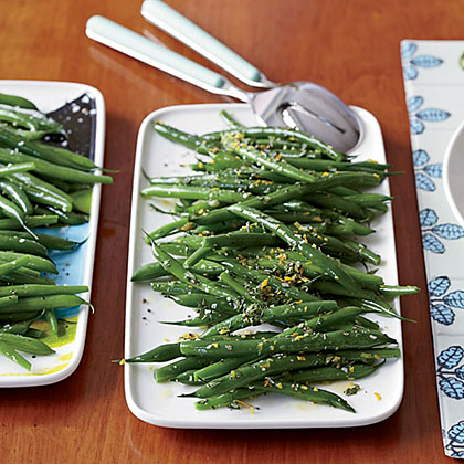 Green Beans Two Ways Recipe
