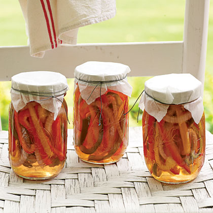 Pickled Peppers and Onions