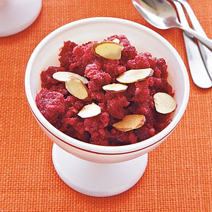 Cherry-Almond Granita Recipe | MyRecipes