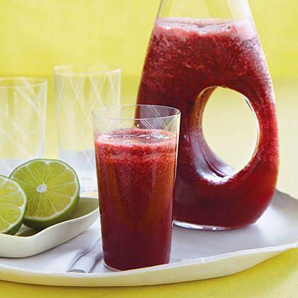 Cherry Limeade Slush