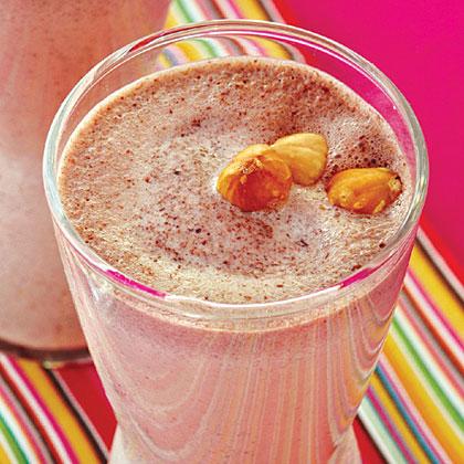 Chocolate-Hazelnut Milk Shake