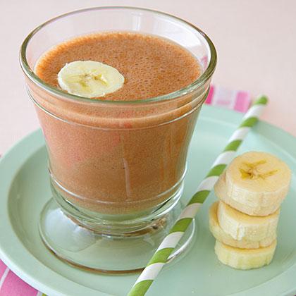 Frozen Chocolate-Banana Shake
