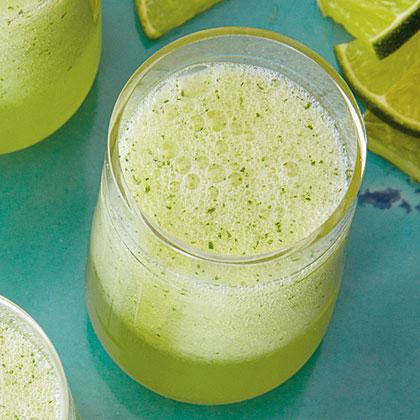 Frozen Honeydew-Limeade Slush