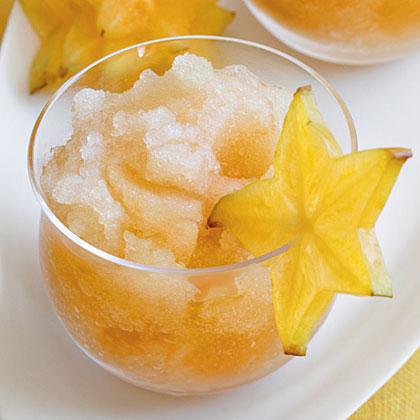 Passion Fruit-Tea Slush