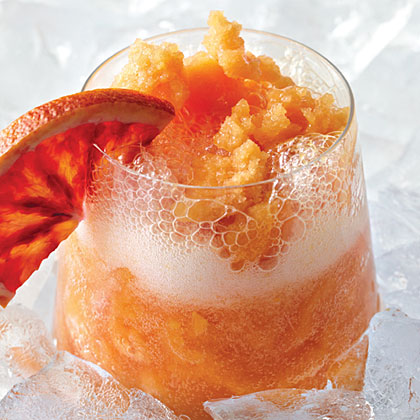 Spicy Blood Orange Cooler