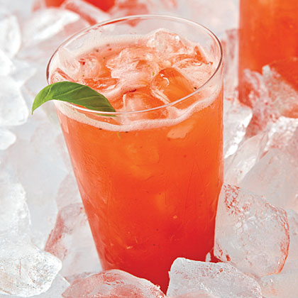 Strawberry-Basil Limeade