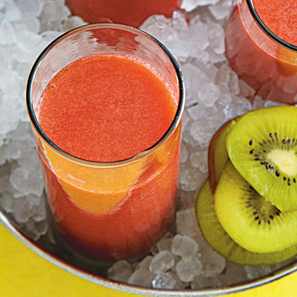 Strawberry-Kiwi Juice Recipe