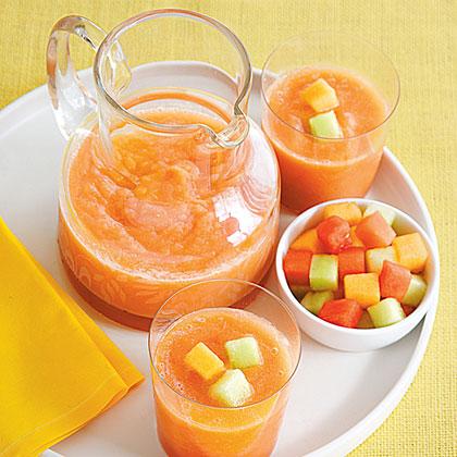 Triple Melon Smoothie Recipe
