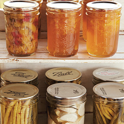 Step 11: Label and store properly sealed jars without the bands. This allows you to better spot oozing, surface mold, rusting, and other signs of spoilage around the lid and frees up the bands for another canning batch. Refrigerate jars after opening.
