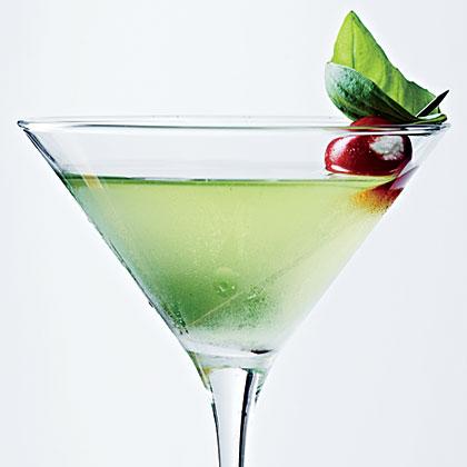 Sweet Basil Martini with Blue Cheese TomatoesRecipe