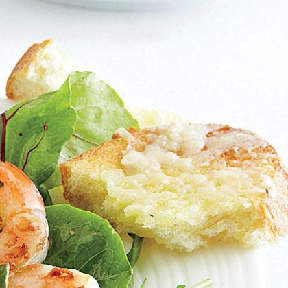 Garlic-Parmesan Toasts