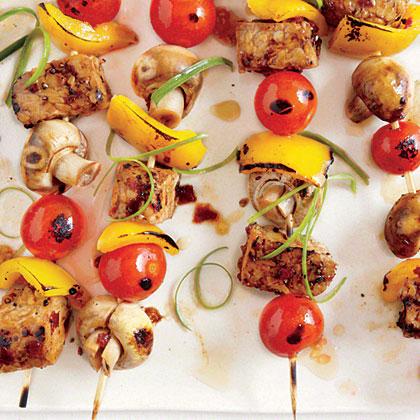 Grilled Tempeh Skewers Recipe