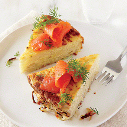 Salmon and Potato Casserole
