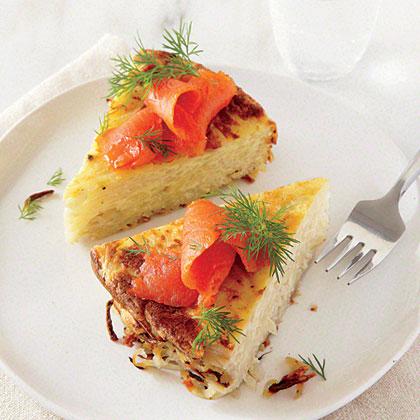 Salmon and Potato Casserole