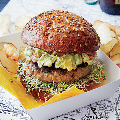 SoCal Guacamole Burger Recipe