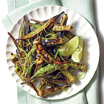 Charred Okra Recipe