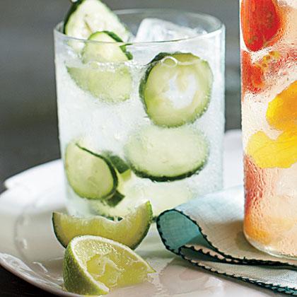 Cucumber Gin and Tonic