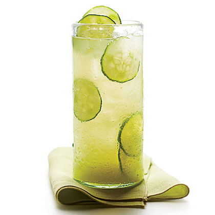 Cucumber-Ginger Limeade Recipe | MyRecipes