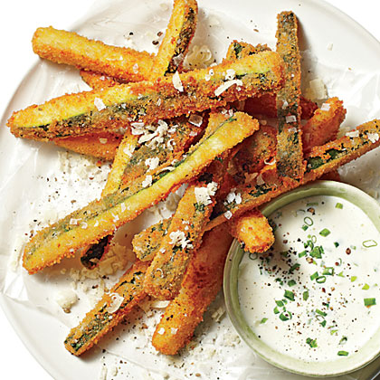 Fried Zucchini Straws