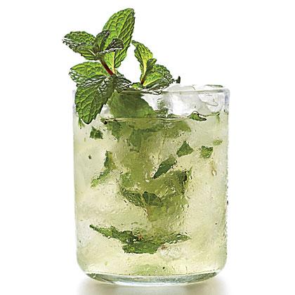 Mint-Champagne Shrub Recipe